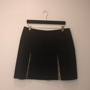 Burberry Ladies Plaid Pleat Skirt